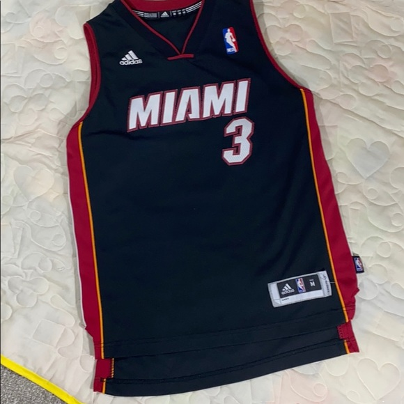 adidas Shirts & Tops | Adidas Miami Basketball Jersey Boys Size M ...
